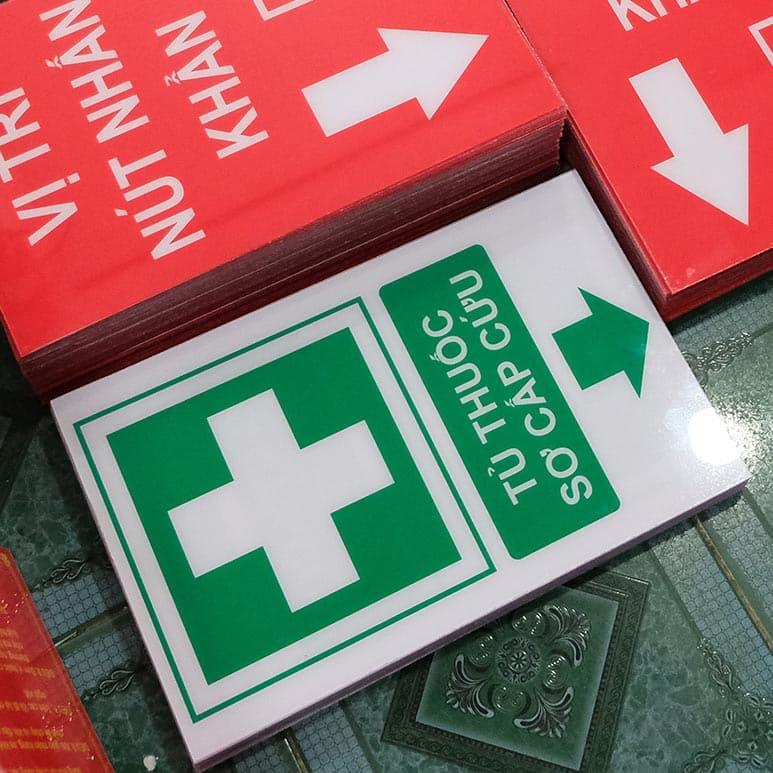 bảng tủ thuốc sơ cấp cứu