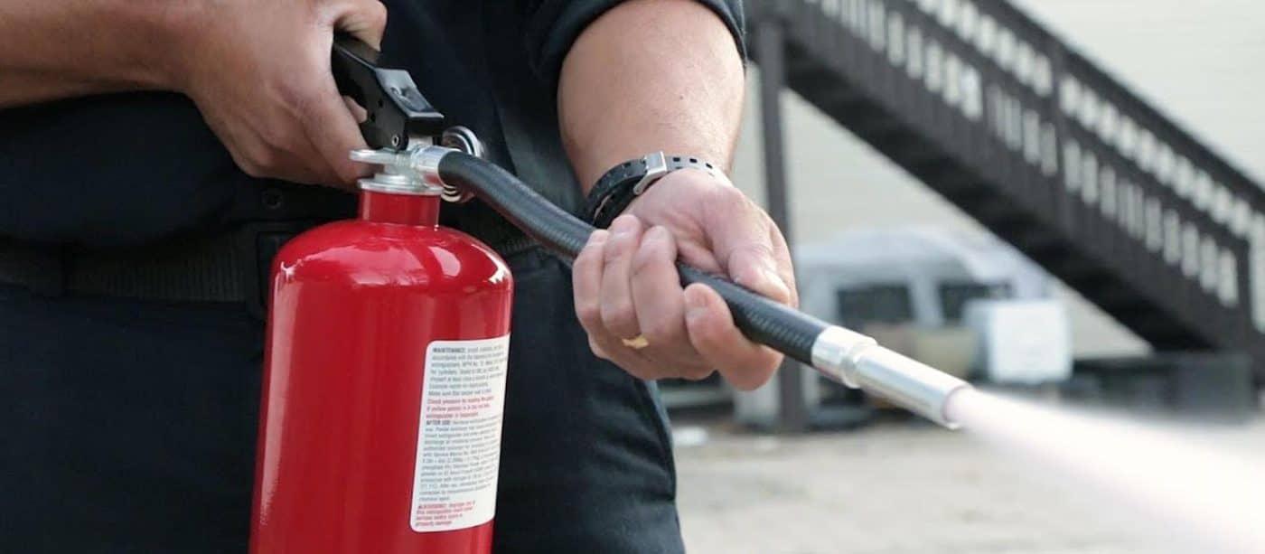 Hướng dẫn sử dụng bình chữa cháy an toàn đúng cách