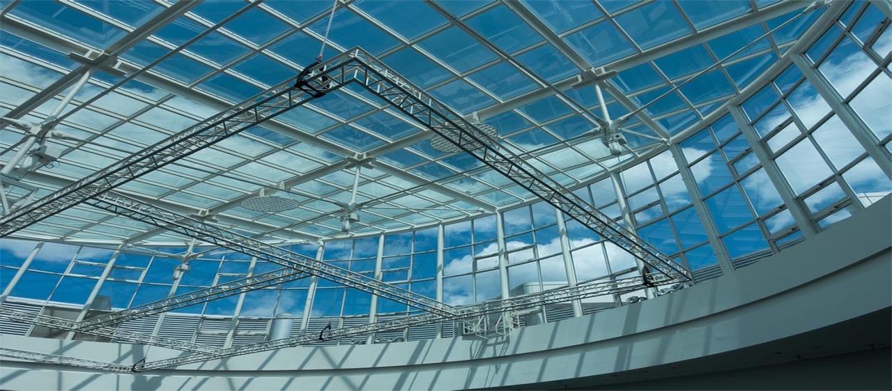 tấm lợp lấy sáng mái vòm khán đài sân vận động