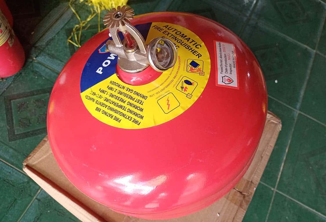 Nguyên lý quả cầu chống cháy hoạt động như thế nào?