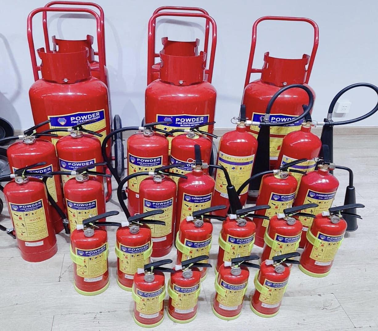 Bình Chữa Cháy Bột ABC an toàn & chất lượng