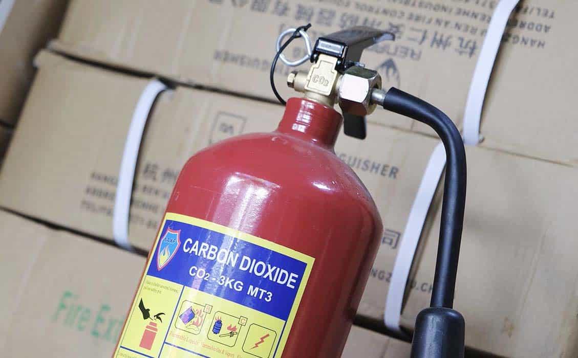Một bình chữa cháy CO2 giá bao nhiêu tiền?