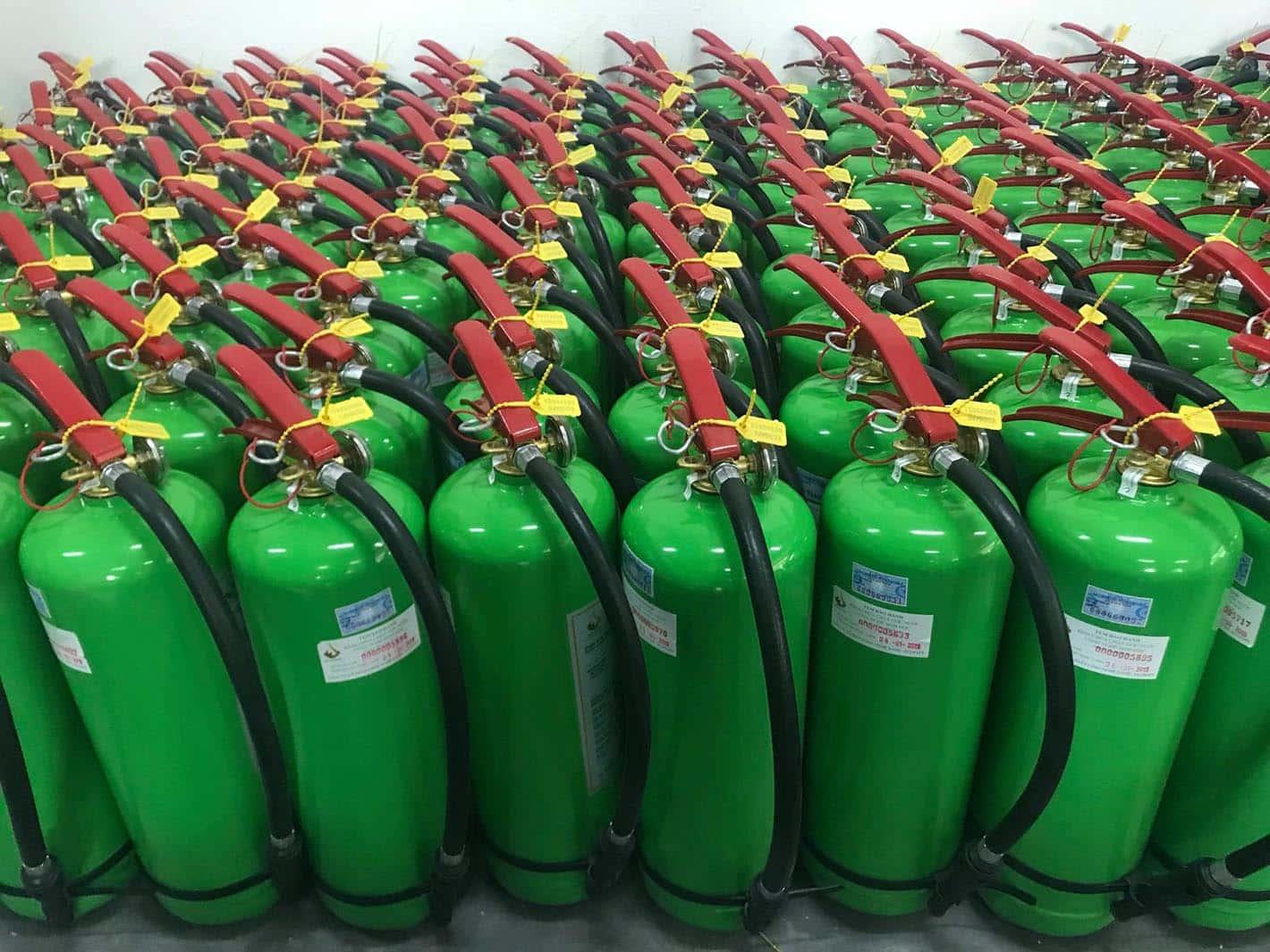 Bình chữa cháy gốc nước hiệu quả với đám cháy nào?