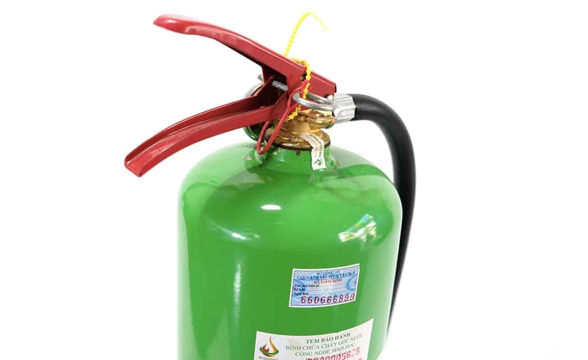 Nhận biết bình chữa cháy gốc nước chính hãng như thế nào?