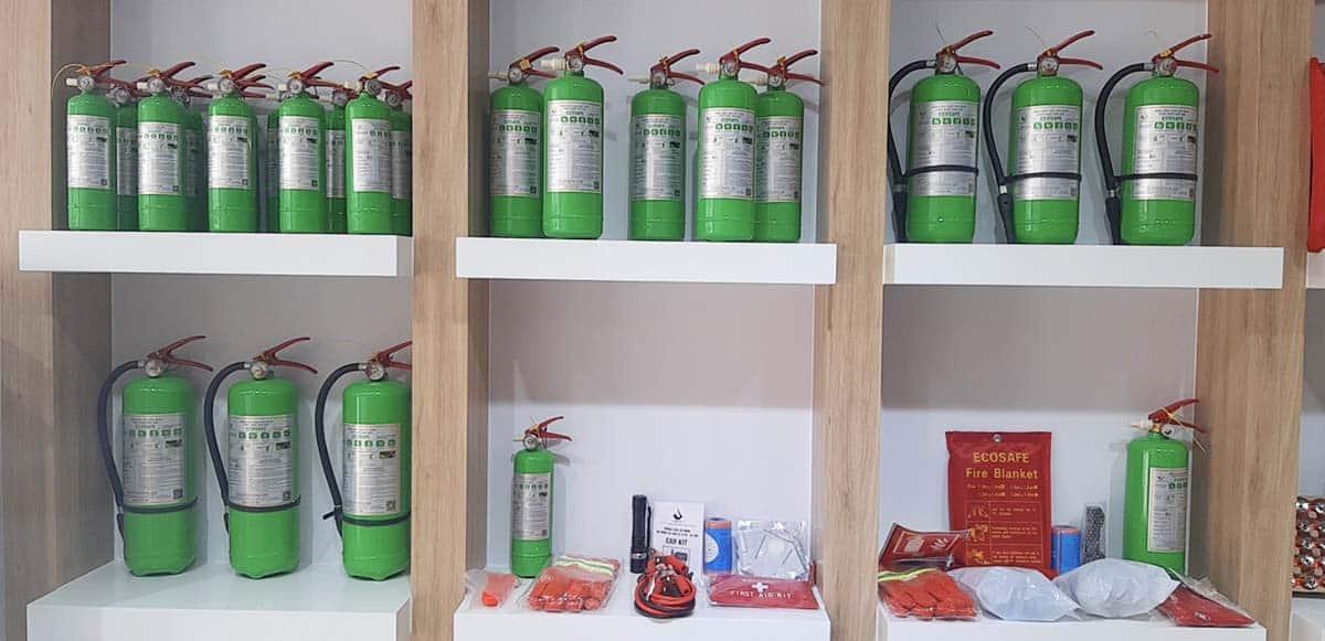 Quy định về bảo trì bình chữa cháy ecosafe như thế nào?