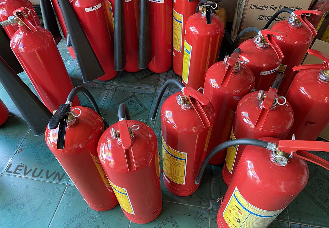 Bình chữa cháy bột dùng để chữa đám cháy nào?