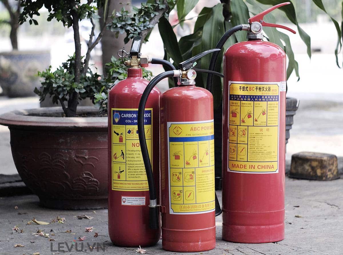 Ký hiệu nhận biết bình cứu hỏa bột là gì?