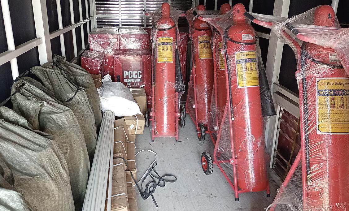 Đại lý cung cấp bình chữa cháy co2 chính hãng chất lượng cao