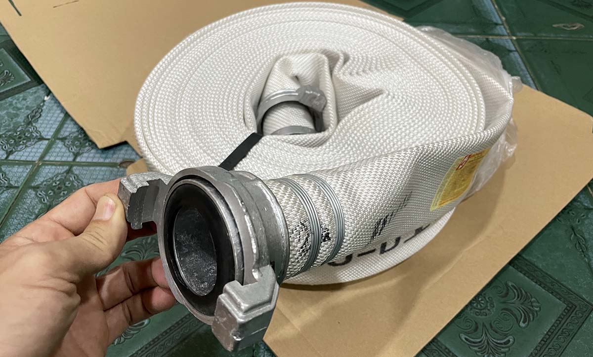 Đường kính vòi rồng chữa cháy có mấy loại?