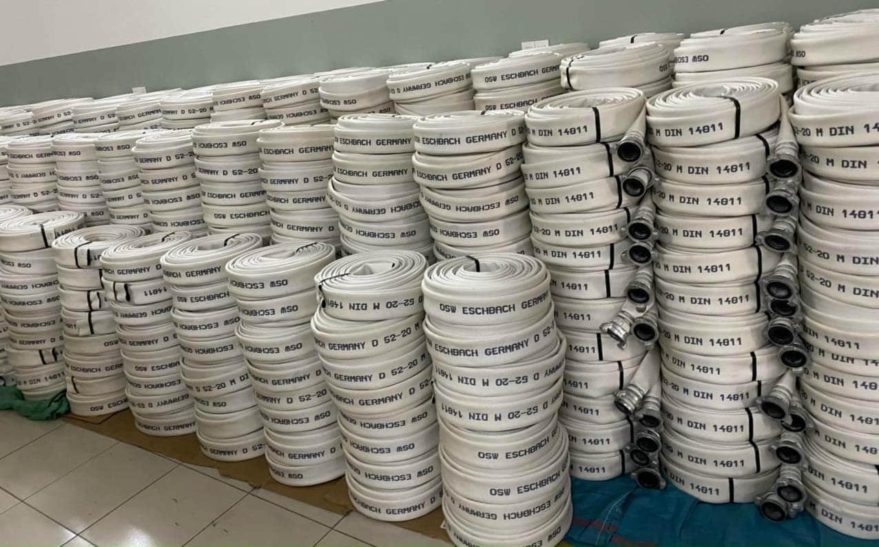 Chiều dài cuộn vòi chữa cháy là bao nhiêu?