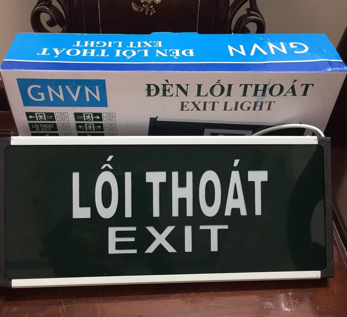 Đèn exit trung quốc GNVN