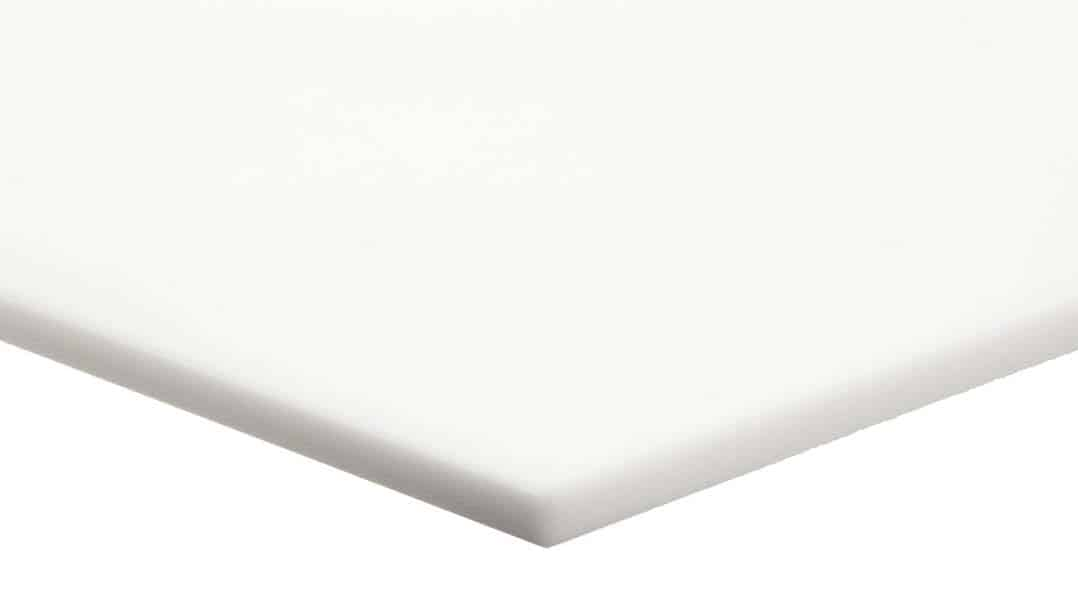 Tấm nhựa kỹ thuật pvc màu trắng