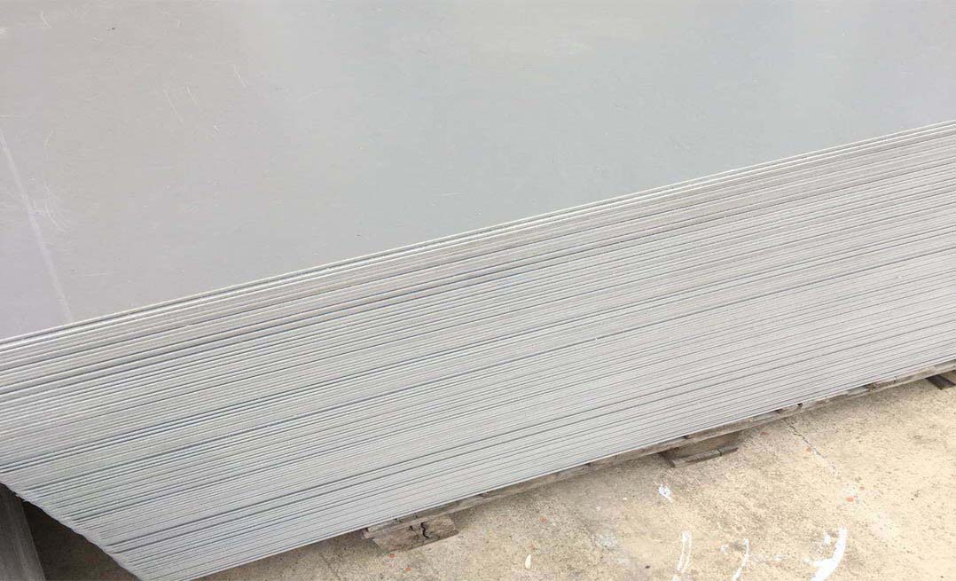 tấm nhựa pvc màu xám ghi