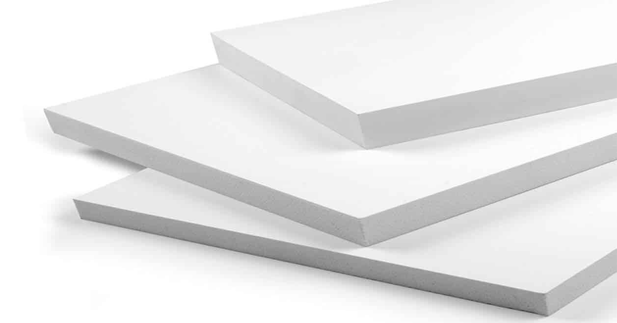 Sản xuất Tấm PVC Foam trắng cao cấp & chính hãng