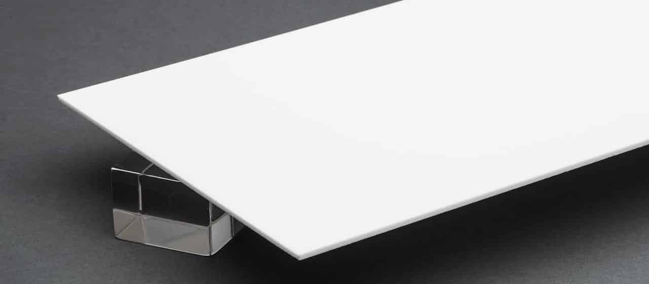Báo giá Tấm Nhựa Mica Trắng Sữa xuyên đèn