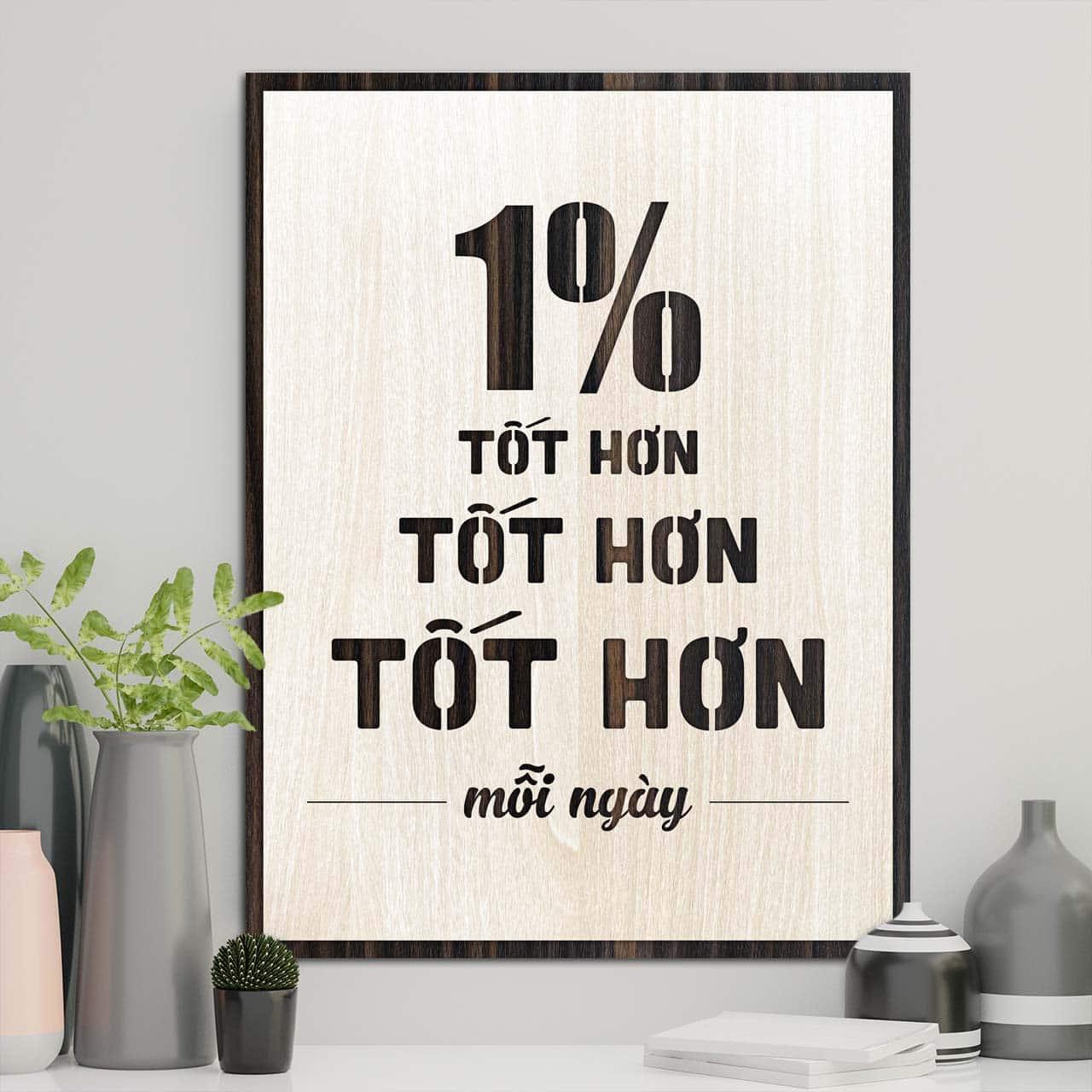 1% tốt hơn mỗi ngày