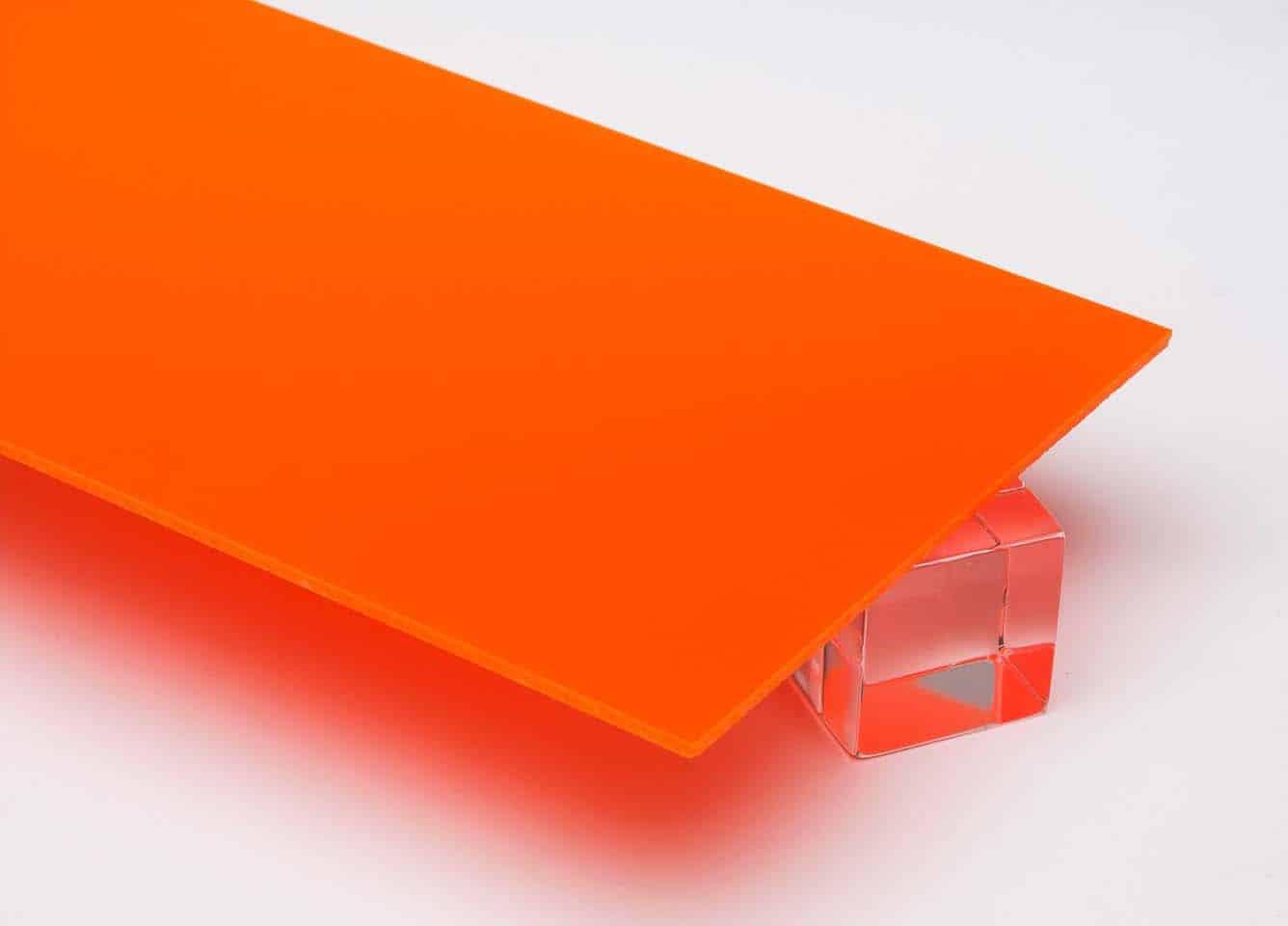 Tấm nhựa mica màu cam FS266