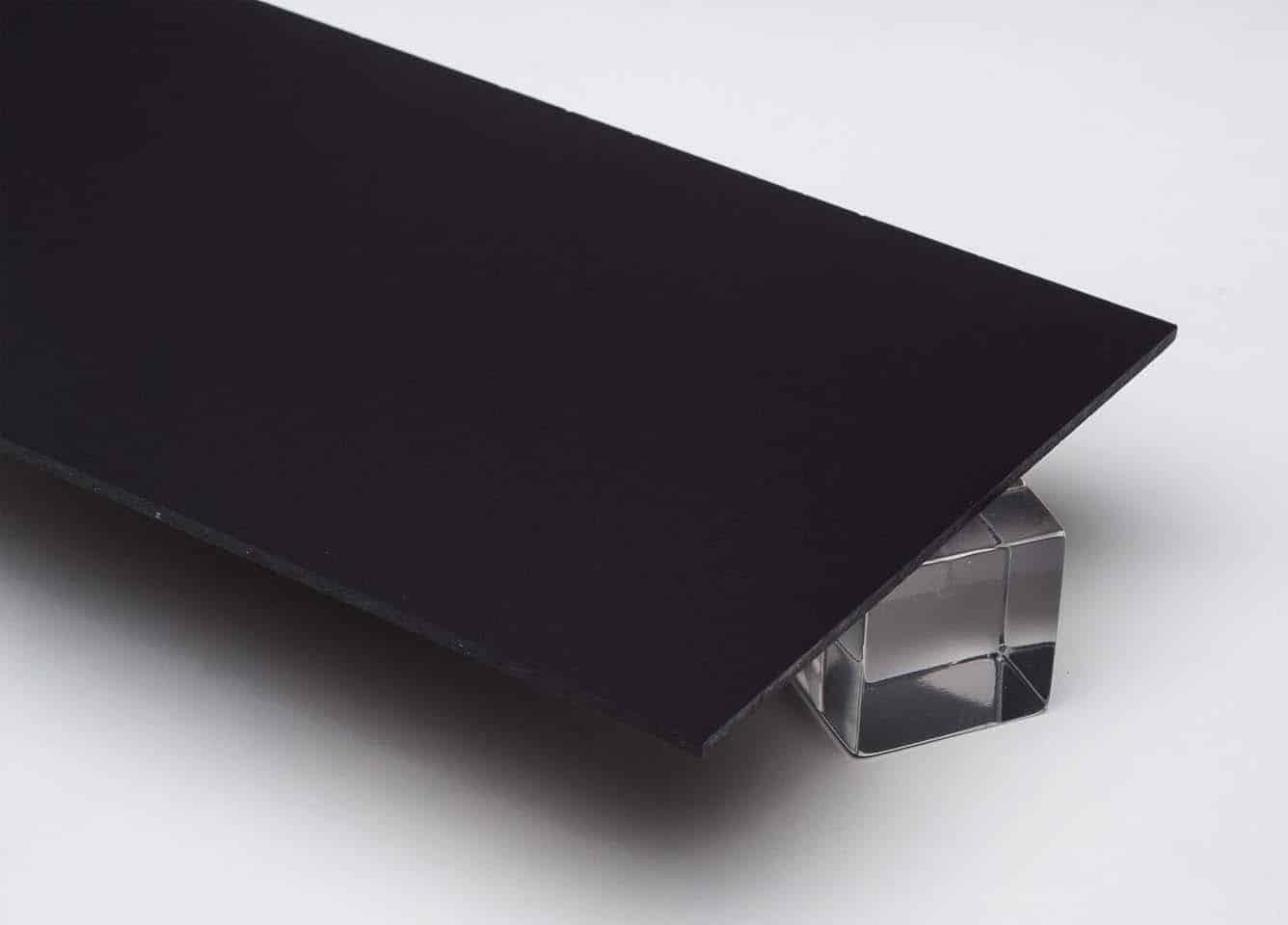 Tấm nhựa mica màu đen FS502