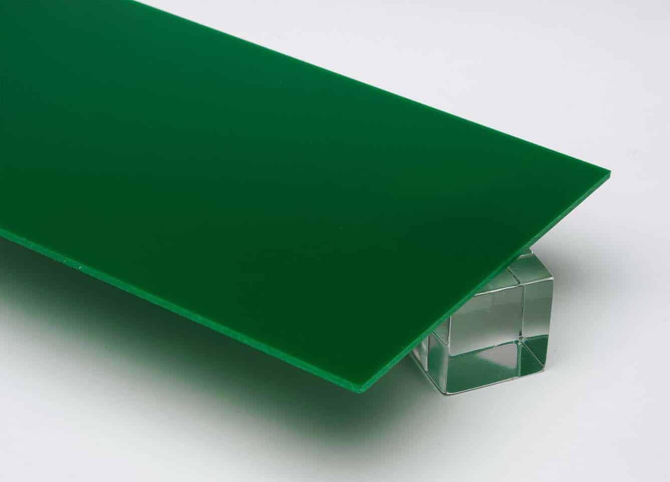 Tấm nhựa mica màu xanh lá FS348