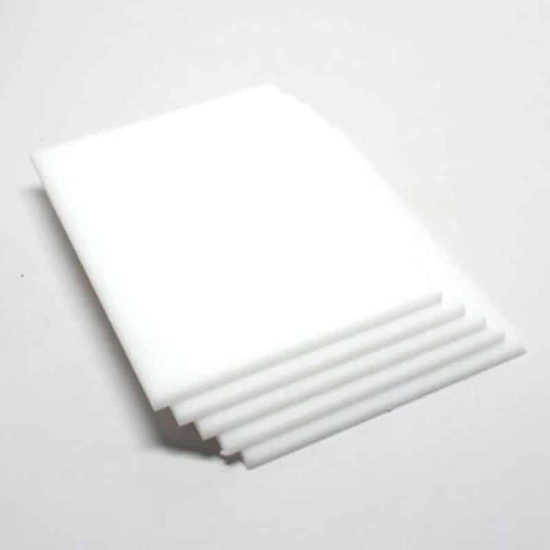Tấm nhựa acrylic trắng sữa